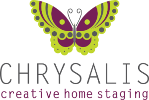 Chrysalis creative home staging logo