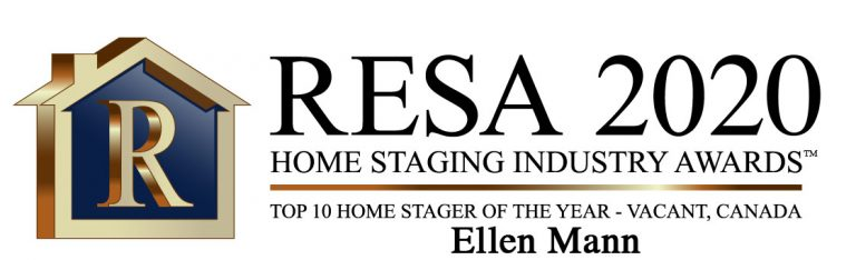 RESA 2020 Top 10 Home Stager of the Year Vacant Canada