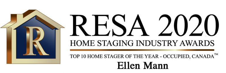 RESA 2020 TOP 10 Home Stager of the Year - Occupied, Canada