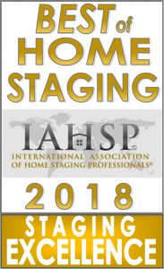 Best of Home Staging- Staging Excellence Logo